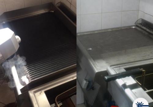 lasersko čišćenje kuhinjski roštilj